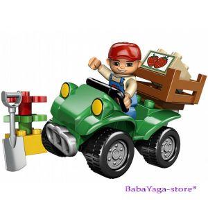 LEGO Конструктор DUPLO ФЕРМЕРСКО бъги