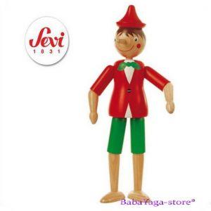 ПИНОКИО дървена фигурка с италианската марка Sevi (30cm) МАРТ