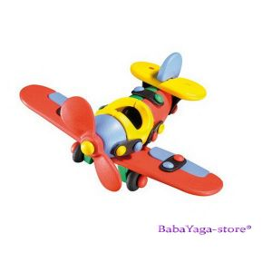 Mic-o-Mic small airplane brick, 089002