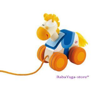 SEVI Дървена играчка  за дърпане Mini КОНЧЕ