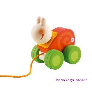 SEVI Дървена играчка за дърпане Mini ОХЛЮВ