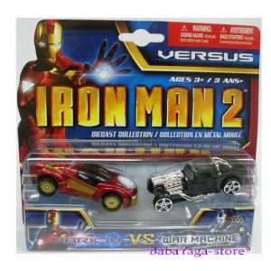 Maisto Iron Man2 Колички комплект Mark IV vs War Machine 2бр. VERSUS - 15147