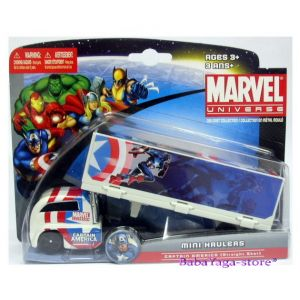Maisto Marvel Камион - ТРЕЙЛЪР UNIVERSE Hauler CAPTAIN AMERICA - 1:32