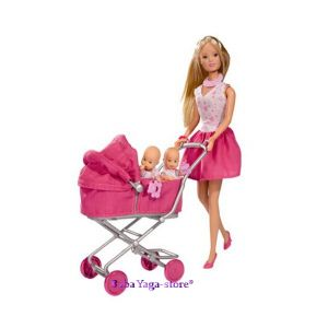 КУКЛА Steffi Love Doll with deep pram, 105738060