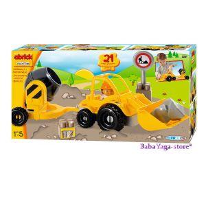 Ecoiffier Abrick Конструктор Строителни машини, Абрик - 7600003231