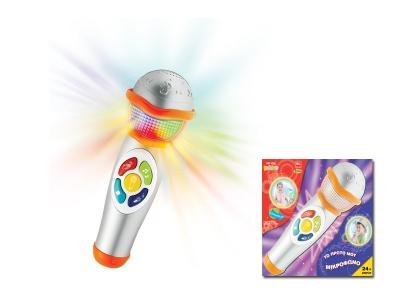 Музикален МИКРОФОН със светлини за деца от MG Toys - 410049
