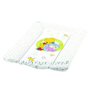 ПОДЛОЖКА за повиване на бебе DISNEY мека Мечо Пух бяла - 7104