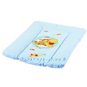ПОДЛОЖКА за повиване на бебе DISNEY мека синя - 7104