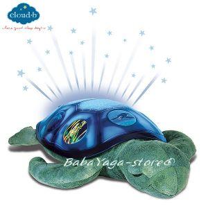7333 Нощна прожекционна лампа МОРСКА КОСТЕНУРКА за детска стая от CloudB, Twilight Sea Turtle