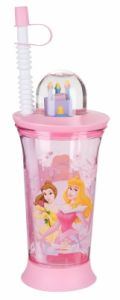 Cup with toy and straw Disney Princess, Trudeau, 6345350