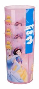 Cups Promo-set (3pcs.)Disney Princess Trudeau, 6341849