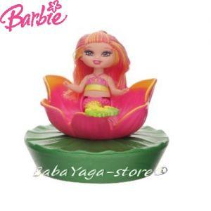 Barbie КУКЛА РУСАЛКА в РАКОВИНА роз - M9314
