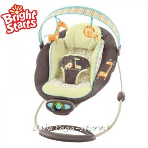 Bright Starts Bouncer InGenuity Automatic Java Jungle, 60010