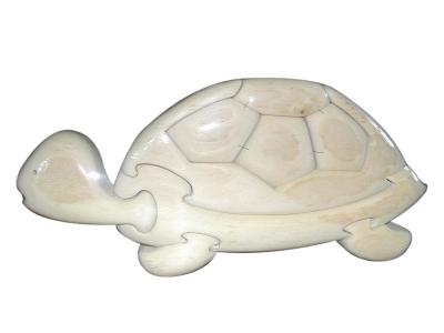 Пъзел дървен 3D - Костенурка