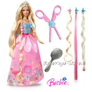 Barbie Cut n Style Princess Doll Mattel, T7362