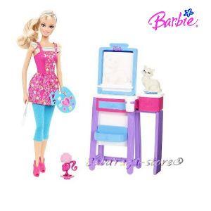 Barbie Art Teacher Doll, V6933