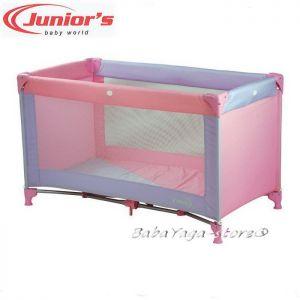 Кошарка за бебе на едно ниво КЛАСИК от JUNIORS - 030 розова