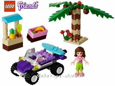 LEGO Конструктор Friends ПЛАЖНОТО Бъги на Оливия - 41010