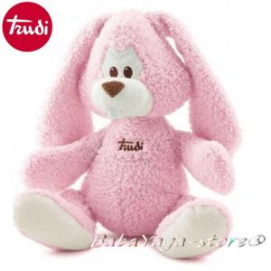 Trudi Plush baby toy Rabbit Cremino (36cm) pink, 23782