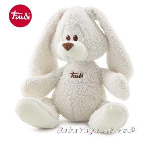 Trudi Cremino Плюшена играчка за бебе ЗАЕК (36cm) бял, 23753
