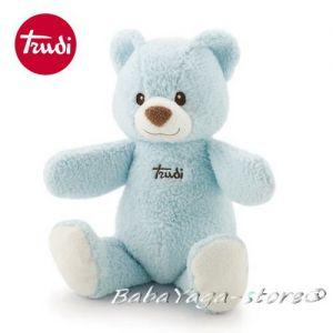 Trudi Plush baby toy Bear Cremino (36cm) blue, 25982