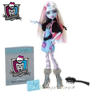 Monster High - Кукла Abbey Bominable с ФОТО албум на страха X4420-Y8472