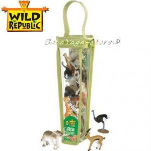 Комплект фигурки за игра АФРИКАНСКИ животни на Wild Republic - 84215