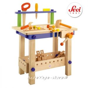 Wooden Workbench toy Sevi, 82082