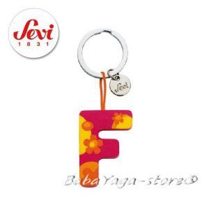 """Ключодържател - дървена БУКВА """"F"""" с марката Sevi - 82416"""