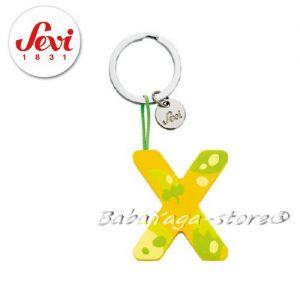 """Ключодържател - дървена БУКВА """"X"""" с марката Sevi - 82434"""