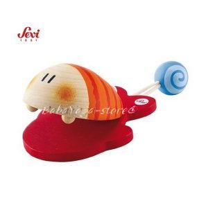 Музикална дървена играчка - КАСТАНЕТИ с марката Sevi - 81856 Castanets