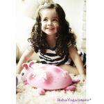 7353 Нощна прожекционна лампа КАЛИНКА за детска стая от CloudB, Twilight Ladybug, розова