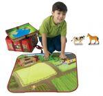 Игра-кутия ферма с играчки-животни ZipBin - 1079S