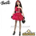 Barbie КУКЛА модна звезда Stardolls Mattel - W2200