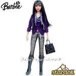 Barbie КУКЛА модна звезда Stardolls Mattel - W2293