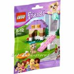 ЛЕГО ФРЕНДС Кучешка къщичка за игра, LEGO Friends Puppy's Playhouse - 41025