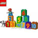 LEGO Конструктор DUPLO ВЛАКЧЕ с ЦИФРИ - 10558