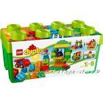 LEGO DUPLO Комплект блокчета в зелена кутия, All-in-One-Box-of-Fun - 10572