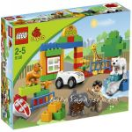 LEGO Конструктор DUPLO Моят първи зоопарк, My First Zoo - 6136