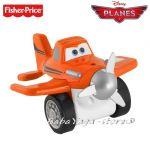 Fisher Price САМОЛЕТ от серията Disney Planes Rollers Rev'n Go Dusty Croppoffer - Y5596