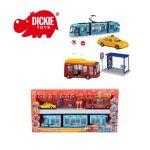 Simba - Dickie Комплект градски превозни средства City Liner Set - 3314283