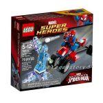 LEGO Конструктор SUPER HEROЕS ТРИКОЛКАТА НА СПАЙДЪРМЕН СРЕЩУ ЕЛЕКТРО Spider-Trike vs. Electro - 76014