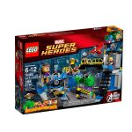 LEGO SUPER HEROЕS Хълк разбива лаборатория Avengers: Hulk Lab Smash, 76018