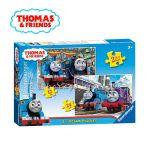 Ravensburger ПЪЗЕЛ за деца с влакчето ТОМАС и приятели от Thomas & Friends 2в1, 072378