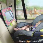 Bright Starts Огледало музикално Sweet Symphony Auto Mirror от колекцията  Pretty in pink- 9288