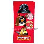 Хавлия - Angry Birds Star Wars beach towel 70x140 - червена