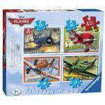 Ravensburger ПЪЗЕЛ за деца САМОЛЕТИТЕ 4в1 Disney Planes - 073351