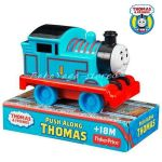 Fisher Price Preschool Thomas & Friends Локомотив ТОМАС от серията Free Wheeling Engines THOMAS - W2190.W2191