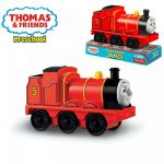 Fisher Price Preschool Thomas & friends Локомотив JAMES от серията Free Wheeling Engine - W1365