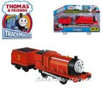 Fisher Price Влакче ДЖЕЙМС Thomas & Friends Motorized JAMES Engine от серията TrackMaster, BML08